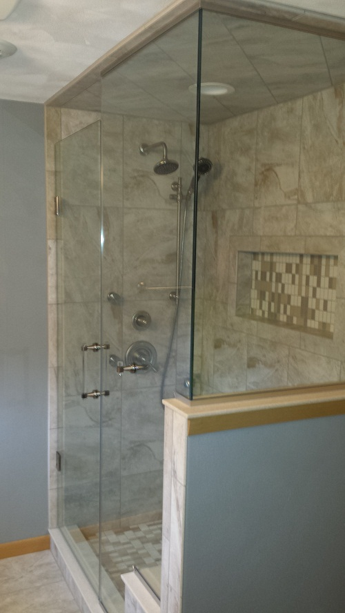 Amazing Ative Shower Panels Contemporary - Bathroom with Bathtub ...